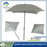 1.46*1.46mの正方形の鋼鉄庭の屋外のテラスの傘(SY1401)