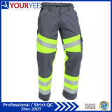 反射テープ(YWP117)が付いている安全こんにちは気力作業ズボン