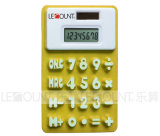 13cm 8 Digits Dual Power Silicon Calculadora con Megnet (LC511A)