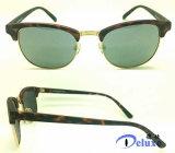 Gafas de sol calientes de la manera del diseñador de la marca de fábrica con insignia de encargo