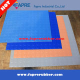 Coin Pattern Rubber Flooring Mat pour pare-chocs imperméable à l'eau / Big Coin Pattern Rubber Mat.