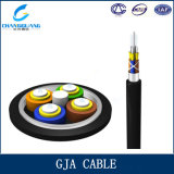 Fabricante impermeable del cable de la fibra de Gja