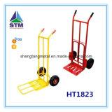 Caminhão de mão do preço de fábrica da alta qualidade Ht1830 com a roda dois