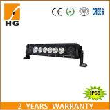 Le CREE simple de la barre 10W d'éclairage LED de rangée ébrèche la barre d'éclairage LED de yeux d'ange