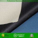 Tissu composé de polyester avec le type ratière d'onde pour le survêtement des hommes