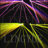 200W Lámpara 5r Disco Efecto Cabeza Móvil Sharpy Luz
