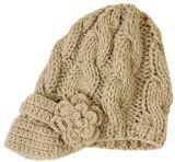 Крышка Beanie забрала Knit способа зимы женщин