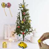 De Ornamenten van de Bal van Kerstmis van Ornamentson van de Bal van Kerstmis van de Decoratie van Decorati van Kerstmis