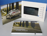 方法Design 7inch TFT Screen Advertizing Video Brochure