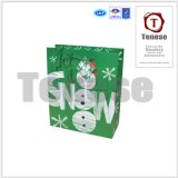 Arte Paper Holiday Gift Packaging Shopping Bag con Handle