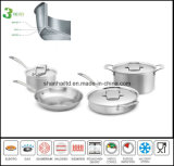 3つの層複合材料の調理器具セット
