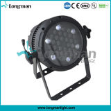 Zoom 36x3W enfriamiento natural Mostrar LED PAR LED Light Música