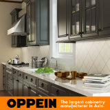 High Quality Modern Lacquer Wood Kitchen Cabinets (OP15-L21)