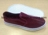 Zapatos de lona de la inyección de los zapatos ocasionales de los hombres con modificado para requisitos particulares (FFPY-19)