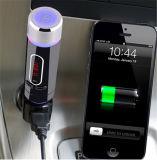 Parler mains libres de MP3 Bluetooth de véhicule de support sans fil émetteur FM portatif de nécessaire et carte de FT (FM28B)