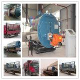 Gaz automatique de Wns et chaudière à vapeur au fuel, chaudière à vapeur de 3 tonnes avec le bec de l'Italie Baltur