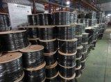 noir en bois de tambour de 305m câble coaxial de liaison Rg213 de 50 ohms