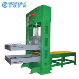 320ton Semi Automatic Stone Betonstein Hydraulic Splitting Guillotine Machine
