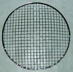 Rete metallica rotonda della griglia del BBQ con Stents/supporti