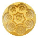 Usine de empaquetage de plateau d'ampoule de biscuit de plateau de biscuit en plastique bon marché remplaçable en plastique clair de PVC