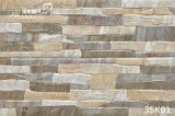 Porcelana Rustic Yellow Grainte Exterior Wall Tile para Decoration (333X500mm)