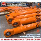 Einzelner Vorgangs-langer Anfall-teleskopischer Hydrozylinder für Industrie