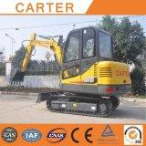 Máquina escavadora hidráulica Multifunction quente do Backhoe da esteira rolante de Salesct45-8b (4.5t)