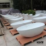Blanco Piedra artificial Corian resina de acrílico superficie sólida Bañera