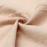 Бежевая обыкновенная толком ткань синеля для верхних частей женщин