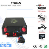 Perseguidor del vehículo del GPS con el sensor de la temperatura y del combustible