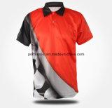 Usura asciutta rapida di forma fisica di alta qualità della camicia di polo degli uomini di modo