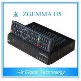 O processador central o mais rápido que funciona o decodificador DVB combinado de Zgemma S2 + DVB T2/C Zgemma H5