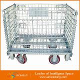 3개의 측 Logistic Wire Mesh Roll Cage 또는 Roll Container
