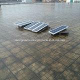 lumière imperméable à l'eau de rue de lampe de garantie de jardin de détecteur de mouvement d'énergie solaire de 60W DEL