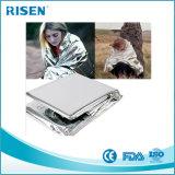 Erdbeben-Folien-Überlebens-Aluminiumrettungs-Plastik-Notzudecke