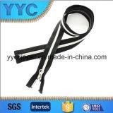 Open lungo Estremità Nylon Zipper con Double Color per Sportswear