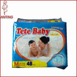L'Africa Authorized Distributor Own Brand Tete Baby Diaper Factory in Cina