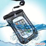 OEM Goedkope Duidelijke Waterdichte Zak voor iPhone 4
