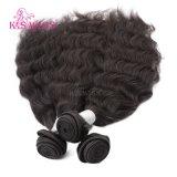 Armadura del pelo humano de las pelucas del K.S, pelo humano de Remy, trama brasileña del pelo de la Virgen superior del grado