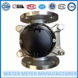 Dn100 voorzien Roestvrije Steel304 de Droge Meter van het Water van de Wijzerplaat van een flens