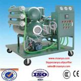 Деятельность очистителя масла трансформатора вакуума Двойн-Этапа он-лайн (горизонтальный испаритель 2)