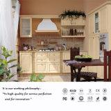 柔らかく白いカラーPVCドアの食器棚(ZH587)
