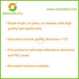 Indicatori luminosi di comitato quadrati e rotondi della parete del soffitto del LED