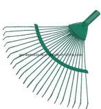 Сгребалка сада листьев металла головки сгребалки садовничая инструментов