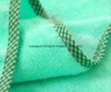 Полотенце ванны младенца/малышей с капюшоном сделанное из 100% ткани Терри хлопка, сплошной цвет