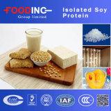 Protéine de soja d'isolement par prix entier de catégorie comestible