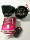 Allarme Sysytem del motociclo del MP3 della decorazione impermeabile audio