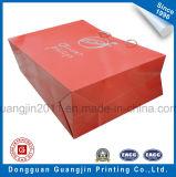 La venta caliente barato de compras de papel bolso con la manija