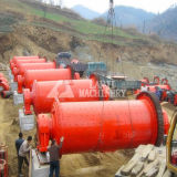 Broyeur à boulets robuste de minerai de zinc de structure/broyeur à boulets