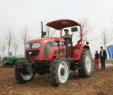 중국 75HP 농장 바퀴 트랙터 공급자